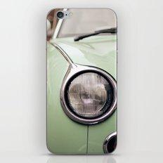 The green car iPhone & iPod Skin