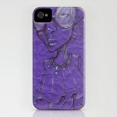 Purple Slim Case iPhone (4, 4s)