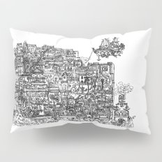 Busy City IV Pillow Sham