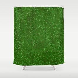 Hillside Green Shower Curtain