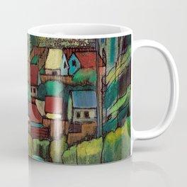 Village by Dennis Weber of ShreddyStudio Coffee Mug