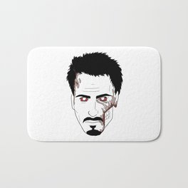 Zombie Robert Downey Jr. Bath Mat