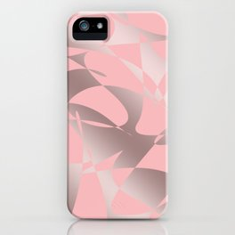 Cute abstract pattern iPhone Case
