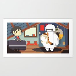 Big Hero 6: Hiro's Room Art Print