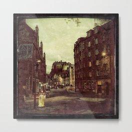 Edimbourg Street - Gerald Robin © Metal Print