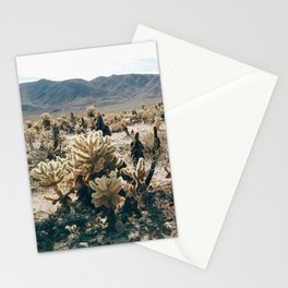 Cholla Cactus Garden in Joshua Tree National Park Stationery Cards