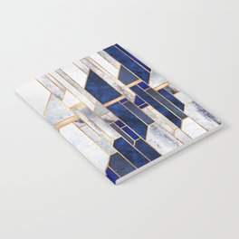 Blue Winter Sky Notebook