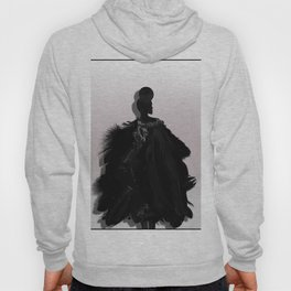 People will stare. Make it worth their while. Hoody