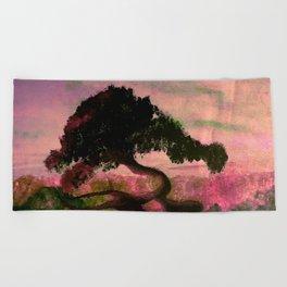 Cypress in Carmel California Beach Towel
