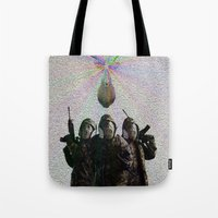 soldier Tote Bags featuring Soldier by DDSS