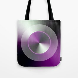 Serene Simple Hub Cap in Purple Tote Bag
