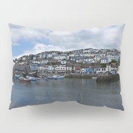 Brixham The Colourful Harbour Pillow Sham