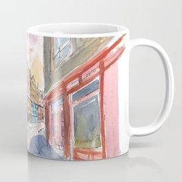 Edinburgh Heritage with Victoria Street Scene Coffee Mug
