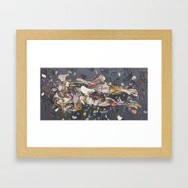 lay back Framed Art Print