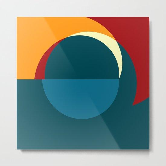 """Mezzogiorno nella Notte (della serie """"La Teoria del Colore"""") Metal Print"""