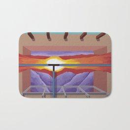 House of the Sun Cloud Bath Mat