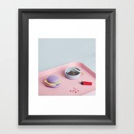 Bad Habits Framed Art Print