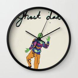 Ghost Dad Wall Clock
