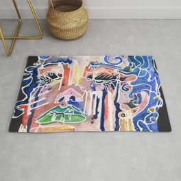 The Blue Queen Rug