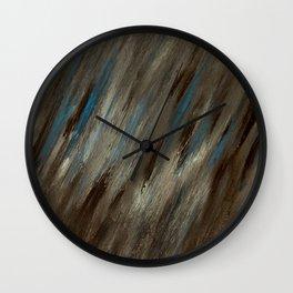 Closed Eye Mountain Landscape Wall Clock