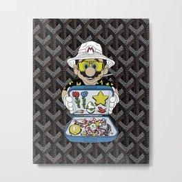 Goyard Mario Metal Print