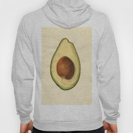Vintage Illustration of an Avocado Hoody
