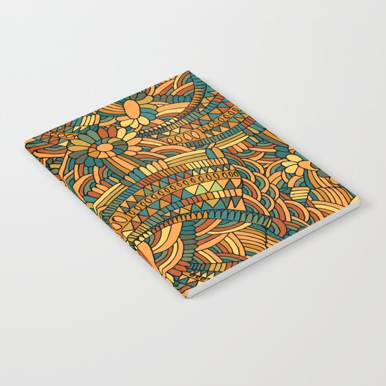 Vintage ornament Notebook