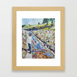 Coyote Creek Framed Art Print