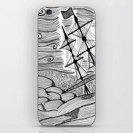 capsized iPhone Skin