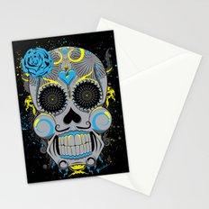 Diabolic Sugar Skull Stationery Cards