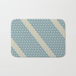 Blue drops Bath Mat