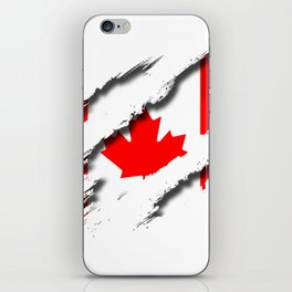 Canada Shredding iPhone Skin