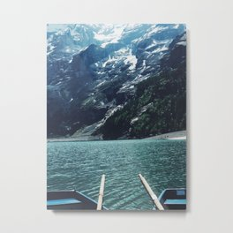 Boating Day Metal Print