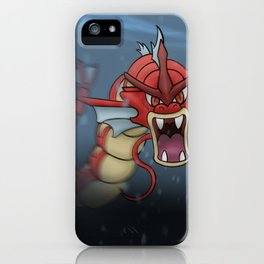 Red Gyrados iPhone Case