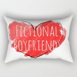 fictional boyfriends Rectangular Pillow
