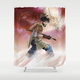 musashi Shower Curtain