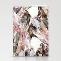 3d Stationery Cards featuring Arnsdorf SS11 Crystal Pattern by RoAndCo