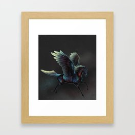 The colors of the pegasus Framed Art Print