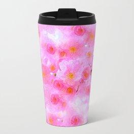 Cherry Blossoms Pink Travel Mug