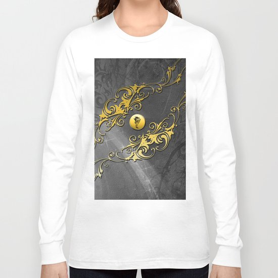 Awesome chinese dragon Long Sleeve T-shirt