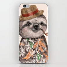Mr.Sloth iPhone & iPod Skin
