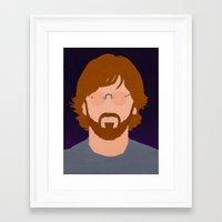phish Framed Art Prints featuring Trey by Jason Conny