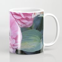 coasters Mugs featuring The Softest Pink by H. N.