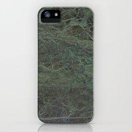 Green Marble II iPhone Case