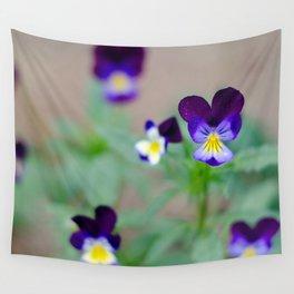 Violas Wall Tapestry
