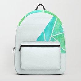 Ziggy: Watercolor Triangle Backpack