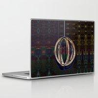 globe Laptop & iPad Skins featuring Bubble Globe by Khana's Web