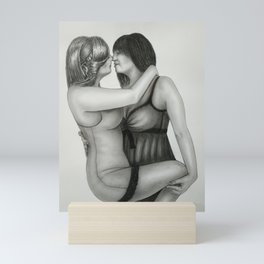 Kiss Mini Art Print