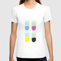 pineapples T-shirts featuring Pineapples by adovemore