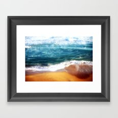 Colourful Seascapes Framed Art Print